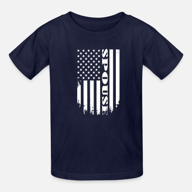 Spouse Proud Spouse of America - USA SPOUSE TEE - Kids' T-Shirt