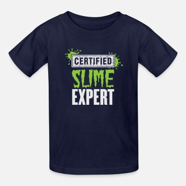 Slime Kids Certified Slime Expert - Kids' T-Shirt