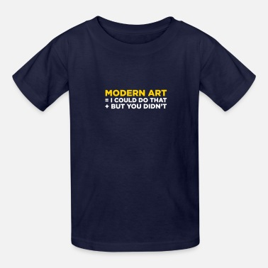 Modern Art - Kids' T-Shirt