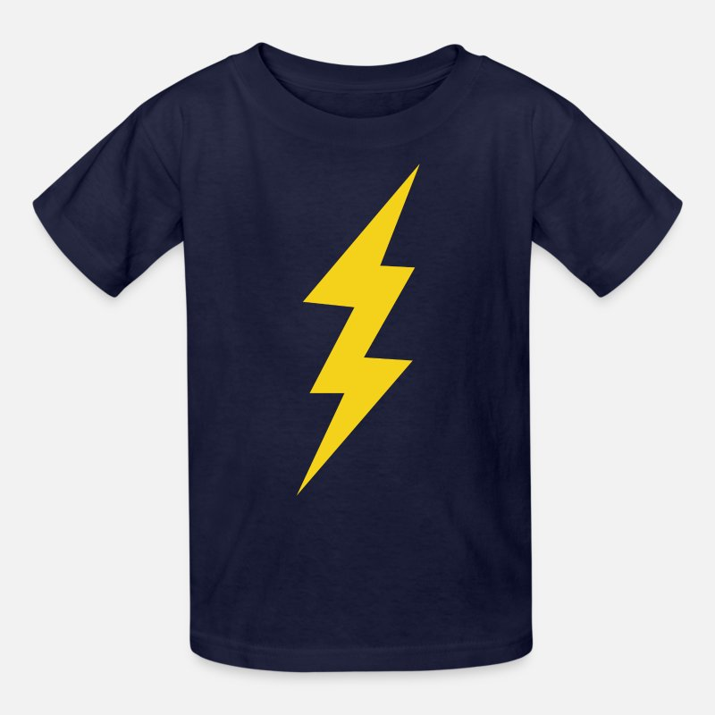 d5b2a5d9 Lightning Bolt Kids' T-Shirt | Spreadshirt