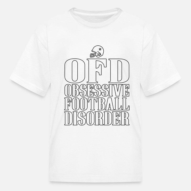 ffccfedb25 Obsessive Football Disorder Funny T shirt Present for Men Kids' T-Shirt |  Spreadshirt