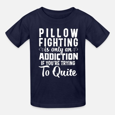 Pillow pillow fighting - Kids' T-Shirt