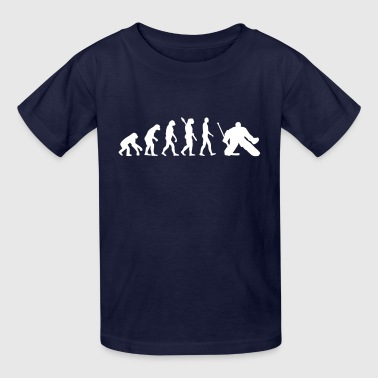 Evolution hockey goalie - Kids' T-Shirt