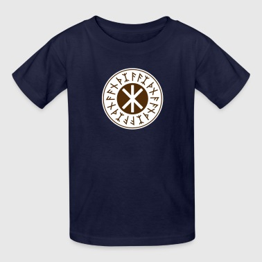 Odin's Protection No.1_2c - Kids' T-Shirt