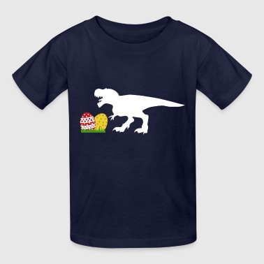 Easter Egg Hunt Dino - Kids' T-Shirt