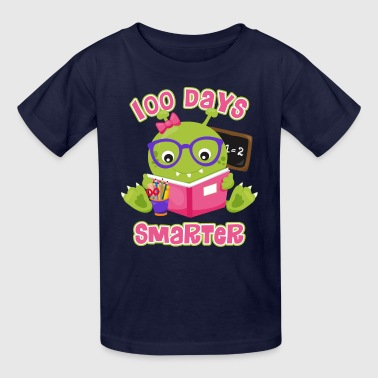 100 Days Girl Monster - Kids' T-Shirt
