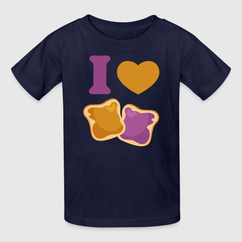 I Love PBJ - Kids' T-Shirt