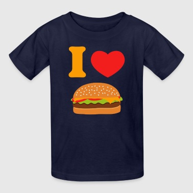 I Love Cheeseburgers - Kids' T-Shirt