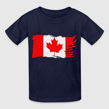 CANADA STRONG FLAG - Kids' T-Shirt