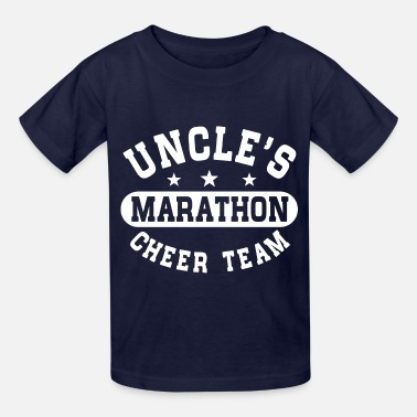Uncles Marathon Cheer Team Support Marathon Uncle - Kids' T-Shirt