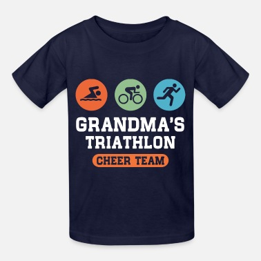 Triathlon Grandma Triathlon Grandma - Kids' T-Shirt