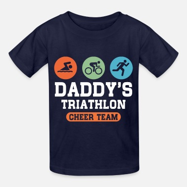 Triathlon Dad Triathlon Dad - Kids' T-Shirt