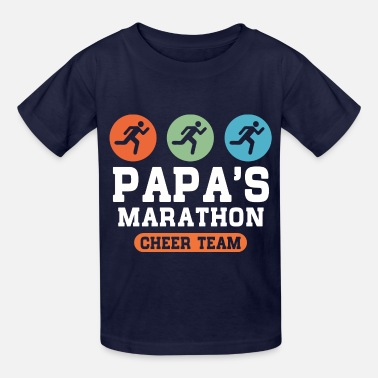 Team Cheer Papas Marathon Cheer Team - Kids' T-Shirt