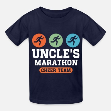 Uncles Marathon Cheer Team Marathon Uncle - Kids' T-Shirt