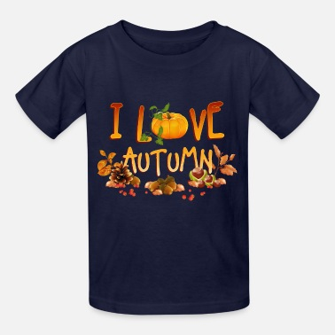 Autumn i_love_autumn_11_201602 - Kids' T-Shirt