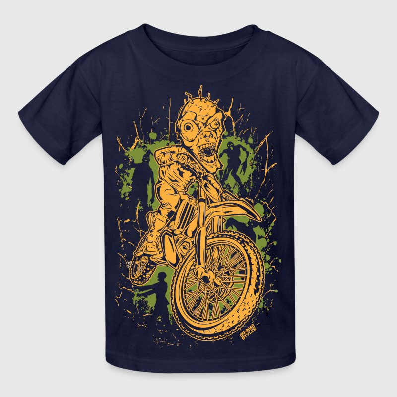 Motocross Halloween - Kids' T-Shirt