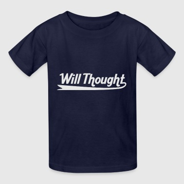 Thoughtful Will Thought - Kids' T-Shirt