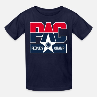 Team Pacquiao pac peoples champ - Kids' T-Shirt