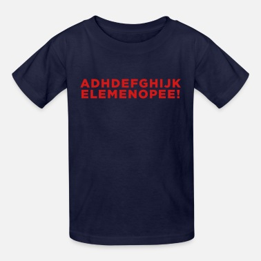 Funny Adhd Quotes Funny ADHD Alphabet Quote  - Kids' T-Shirt
