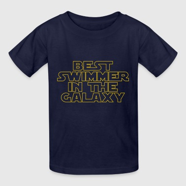 Best Swimmer in the Galaxy - Kids' T-Shirt