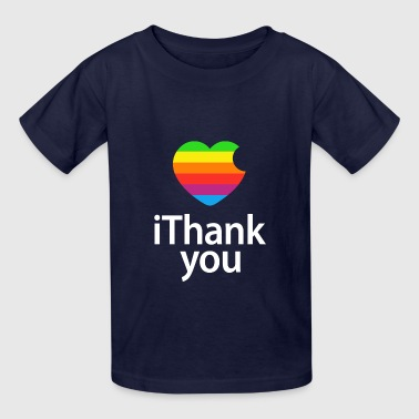 Apple Steve Jobs Funny iThank You - Kids' T-Shirt