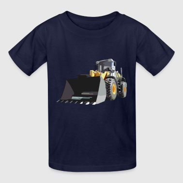 Liebherr wheel loader - Kids' T-Shirt