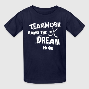Hockey Teamwork - Kids' T-Shirt