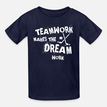 Hockey Designs Hockey Teamwork - Kids' T-Shirt