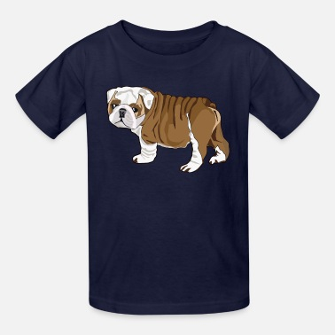 English Bulldog Bulldog Puppy French Bulldog Bulldog T shirt - Kids' T-Shirt