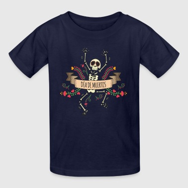 Sugar Skeleton - Day of the Dead - Kids' T-Shirt