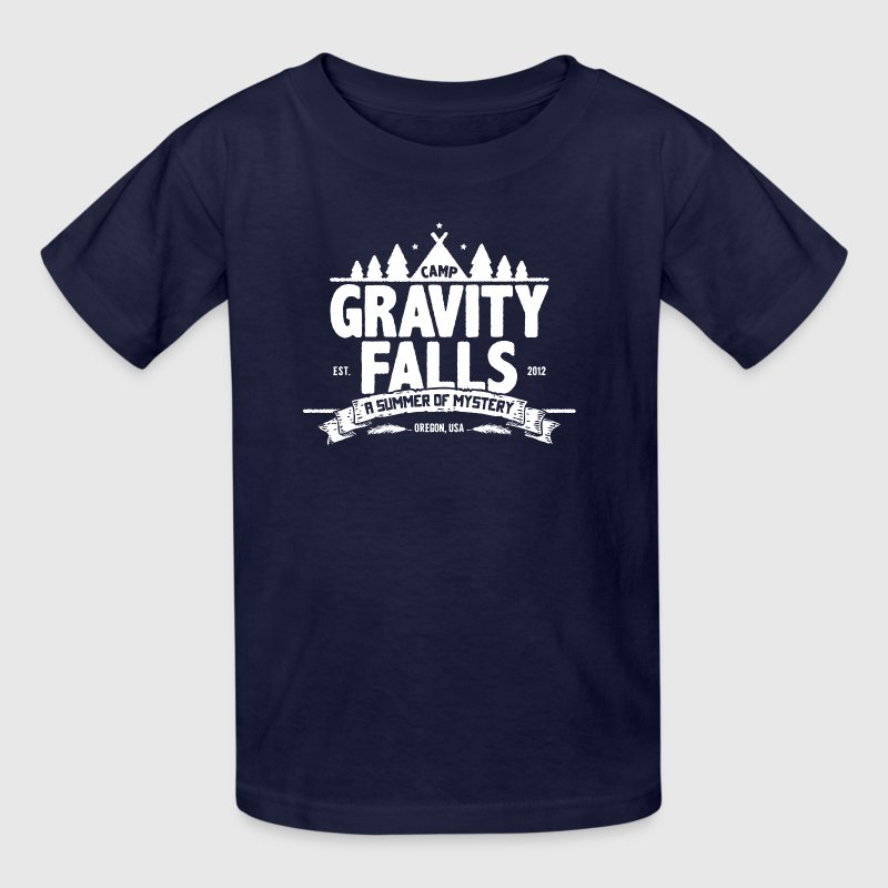Camp Gravity Falls - Kids' T-Shirt