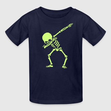 Dabbing Skeleton Dance - Kids' T-Shirt