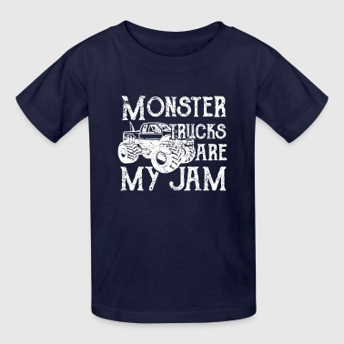 Monster Trucks are my Jam - Kids' T-Shirt