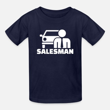 Car Salesman Car salesman - Kids' T-Shirt