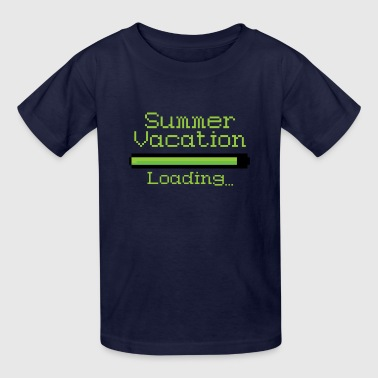 End Of The Year End of the School Year Dreaming Summer Vacation Loading - Kids' T-Shirt