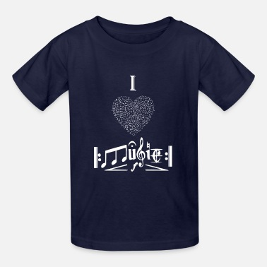 I Love To Sing I love Music - Kids' T-Shirt
