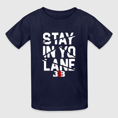 BBB Big Baller Brand Stay In Yo Lane - Kids' T-Shirt