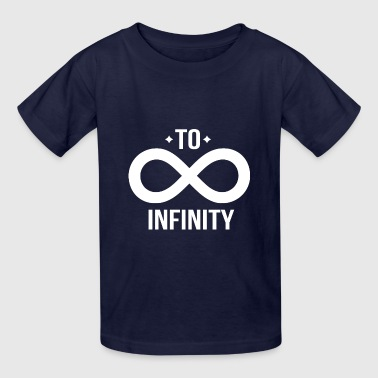 Friendship - To Infinity Tshirt Matching BFF shirt - Kids' T-Shirt