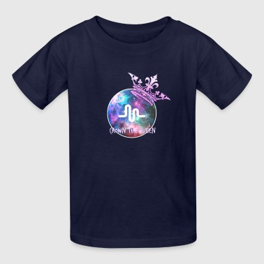 Musically crown the queen - Kids' T-Shirt