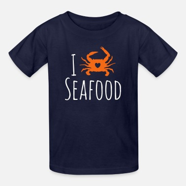 Seafood Restaurant Seafood Love - Kids' T-Shirt