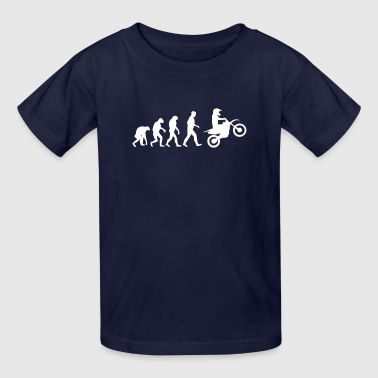 motocross evolution - Kids' T-Shirt