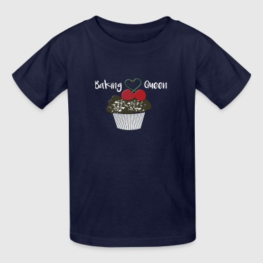Baking Queen Cupcake Love to Bake - Kids' T-Shirt