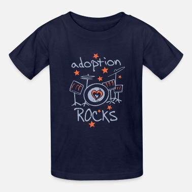Adoption Adoption Rocks - Kids' T-Shirt