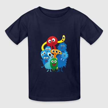 Monsters - Kids' T-Shirt