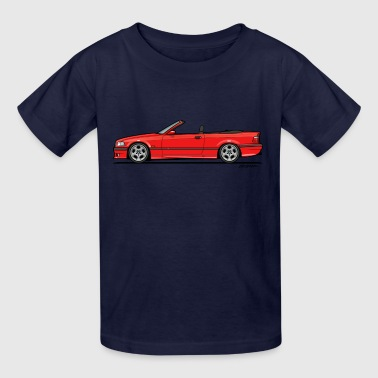 3 Series E36 Red Convertible - Kids' T-Shirt