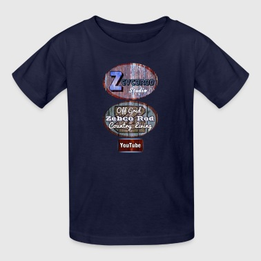 Zebco and zevco Rod logo - Kids' T-Shirt