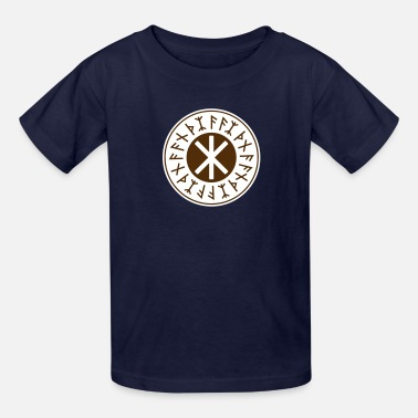 Germanic Odin's Protection No.1_2c - Kids' T-Shirt