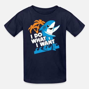 Katy- Perry Left Shark I Do What I Want - Kids' T-Shirt