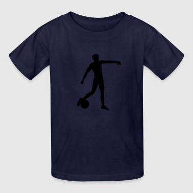 Soccer Man Football soccer player man - Kids' T-Shirt