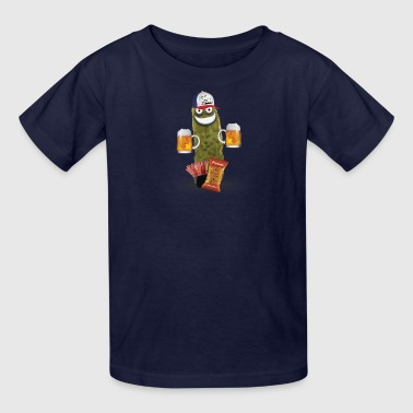 Drinking Buddy Pickle - Kids' T-Shirt